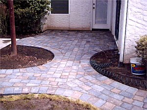 Examples of Paver Walkways